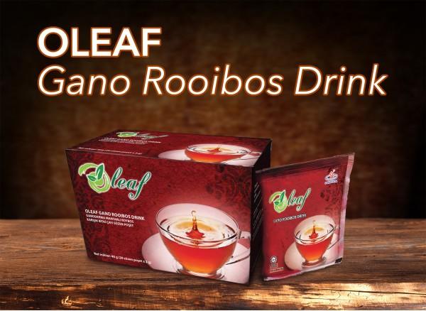Oleaf Gano Rooibos Drink